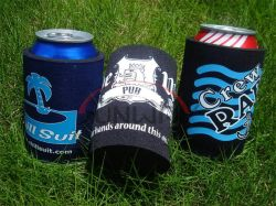 Wholesale Beer Cooler Custom Neoprene Beverage Drink Stubby Bottle Can Cooler (BC0001)