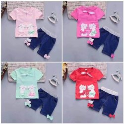 79da88047ccbc High Quality Soft Pattern Cotton Clothes Baby Clothes Girl's Suits Children  Wear