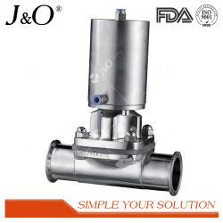 New Design Sanitary Pneumatic Stainless Steel Diaphragm Valve