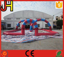 Iinflatable Car Race Track Type and PVC Material Inflatable Air Track