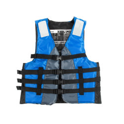 Ce Approved Reflective Vest Motor Boat Lifejacket for Outdoor Water Sports