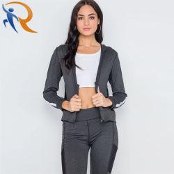 Sportswear Fashion Yoga Coat Leggings Sports Set for Women