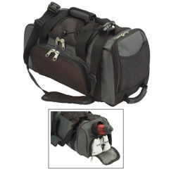 Gym Sports Travel Carry-on Bags with Shoes Pocket