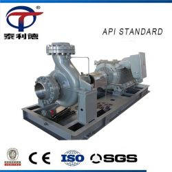 API Horizontal Centrifugal Petrochemical Hot Crude Fuel Pumps Diesel Gas Oil Transfer Acid Chemical Process Water Pump Manufacturer