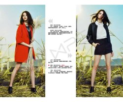 Wholesale Long-Term Sales The High Quality Brand Stock of Women's Clothing