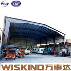 Steel Structure Frame Warehouse with PU Sandwich Panel
