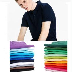 100% Cotton T Shirt Plain Embroidered Sports Polo Shirt