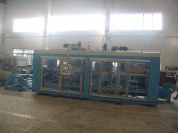 Zs-5567 F Plastic Machinery Roll Vacuum Forming Machine