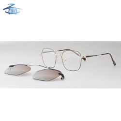 ed5c20f0e38 Wholesale Eyewear Polarized Lens Clip-on Sunglasses High Quality Optical  Glasses Frame for Men