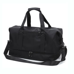 Sports Gym Bag Wet Pocket & Shoes Compartment Travel Duffel Bag