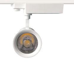 30W Black/White Housing CREE COB LED Spot Track Lamp
