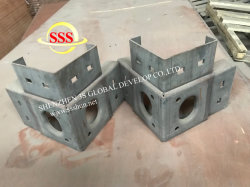 Shipping Container Corner Cast Lifting Bracket 10 Ton Rated