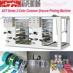 Asy Series 2-Color Line-Connecting Gravure Printing Machine