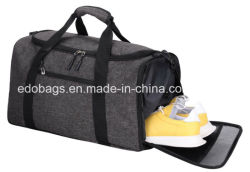18ac707b1a BSCI Factory Custom Sports Gym Shoes Bag Duffle Gym Bag with Shoes  Compartment