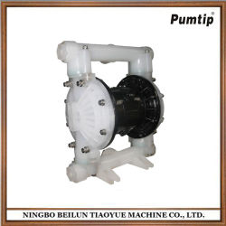 Resistance to Acid Alkali 2 Inches of Perfluorinated Pneumatic Diaphragm Pump
