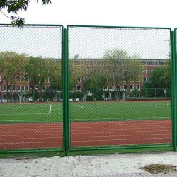 PVC Coated Chain Link Metal Garden Wire Mesh Fence Panel