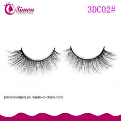 High Quality 3D Artificial Mink Eyelashes Synthesis False Eyelashes
