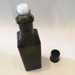 Elegant Black Mini UV Plastic Cap for Glass Drips Bottle