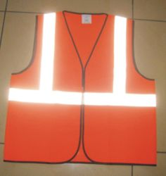 Custom Make Printed Workwear Night Work Reflective Safety Vest High Visible