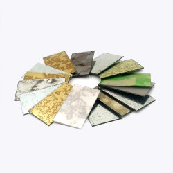 5mm Decorative Antique Mirror Sheets With New Design