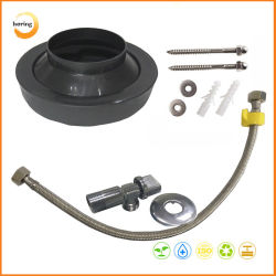 Toilet Fittings Rubber Toilet Gasket with 50cm Ss Water Hose