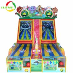 Hot Sale Adventure Bowling Lottery Arcade Game Machine for Sport