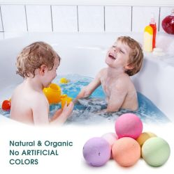 Fragrance Packing Custom Factory Bulk Order 60g Foot Shower Organic Bath Bombs Salts