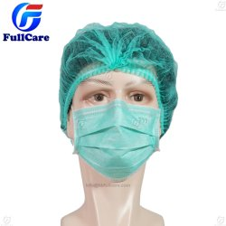 Dental/Hospital/Clinic/Nonwoven/SMS/Surgical/PP/Round/Crimped/Pleated/Strip/Medical Disposable Clip Mop Cap PE Bouffant Nurse Shower Bathing Hotel Doctor Cap