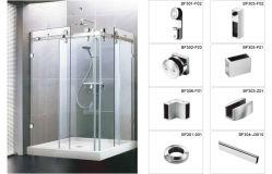 Xiamen Supplier SS304 SS316 Shower Door Hardware for Bathroom Partition