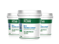 Tecway-Flexible Type K11 Polymer Modified Cement Waterproof Slurry (Site-Application)