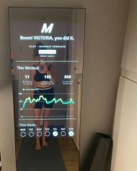 32 Inch 43 Inch Sport Smart LCD Exercise Mirror