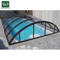 Automatic Waterproof Retractable Door Swimming Pool Cover