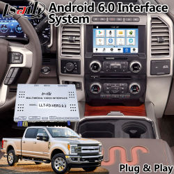 Android 6.0 Multimedia Video Interface Box for 2016-2018 Ford F-350 Sync 3 System