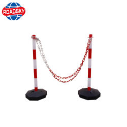 Cheap Reflective Plastic PVC Traffic Delineator Post for Parking Safety