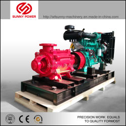 Diesel Water Pump for Fire Fighting with Automation Control Cabinet
