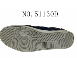 No. 51130 Gray and Navy Men Shoes Skateboard Shoes
