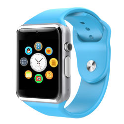 Sport Pedometer Bluetooth Smart Watch Mobile Phone with SIM Card Slot