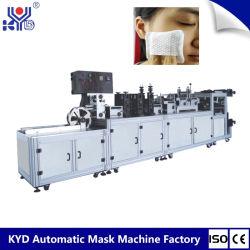 Fully Automatical Plug-in Spunlace Non Woven Facial Cotton Pads Making Machinery