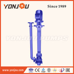 Yw Vertical Centrifugal Submerged Pump Used for High-Concentration Liquids, Mud or Slurry Sewage Pump