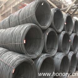 Hot Rolled Steel SAE1006/1008 Steel Wire Rod From China Manufacturer