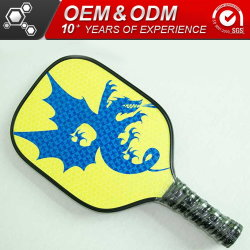 Customized Graphite Pickleball Paddle Racket Sport Goods