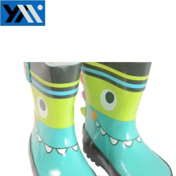 2018 Cute Natural Rubber Kids Rain Boots with 100% Waterproof