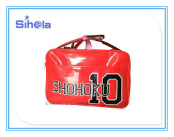 Red Color Sports and Travel Leather Bag
