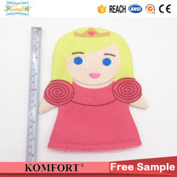 Kids Cute Girl Morocco Cleaning Hand Puppet Baby Bath Glove SPA Toy