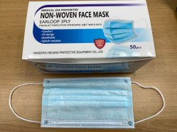 Fast Delivery 3ply Earloop Disposable FFP2 Sport Mask for Protection