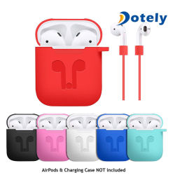 Case Cover for Apple Airpod Strap Silicone Protective Charging Sport