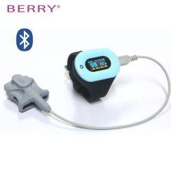 Wrist Water Resistant Pulse Oximeterwith Reusable Pediatric Sensor with OLED Digital Display