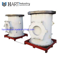Hardfacing/Cladding/Clad Chromium Carbide Overlay Wear Resistant Mud Slurry Sand Gas Oil Dredging Dredge Dredger Pipe