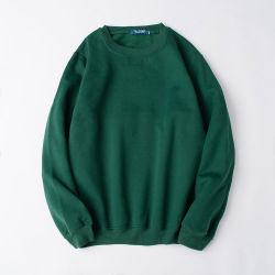Wholesale Custom Men Plain Solid Color Crew Neck Sweatshirts