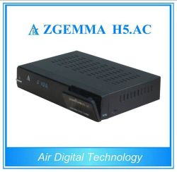ATSC Digital TV Receiver Zgemma H5. AC with Enigma2 Linux OS Support Hevc H. 265
